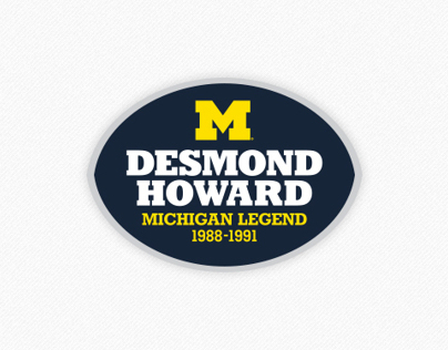 Logo: Michigan Legends - Univ. of Michigan, Athletics