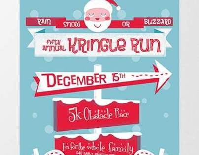 Kringle Run Graphic Design Class Assignment 2012