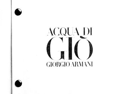 Giorgio Armani: Acqua di Giò