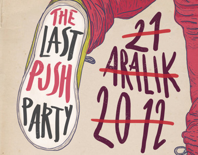 Last Push Party Flyer