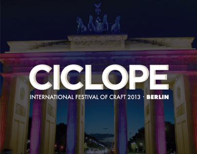 Ciclope Festival - Logo and Look & Feel