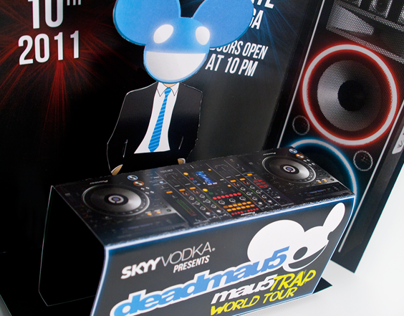 Deadmau5 Sound Card Invitation