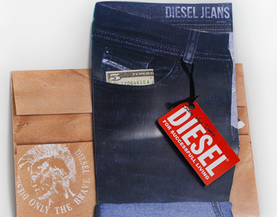 Diesel Jeans Exclusive Launch Invitation