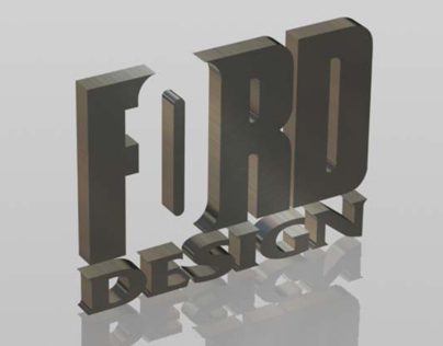 3D Logo Conversions for Ford Design Group