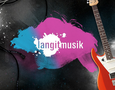 Langitmusik Website
