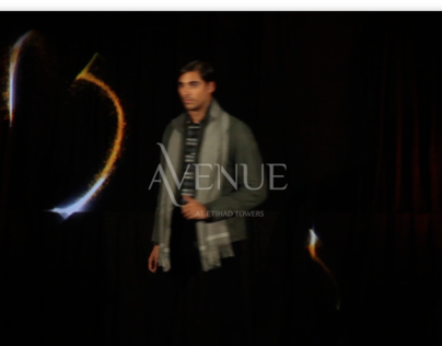 Avenue Fashion Show Hologram