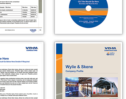 VDM Group - Branded Document Templates