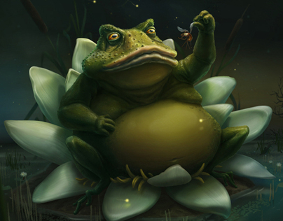 Toad king - Character Design 2D