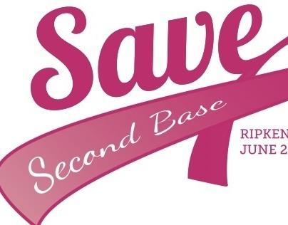 Save Second Base T-shirt Design