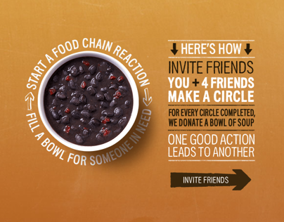 Panera Bread Food Chain Reaction