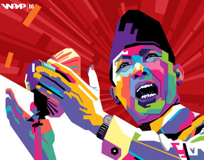 WPAP (Wedhas Pop Art Portrait)
