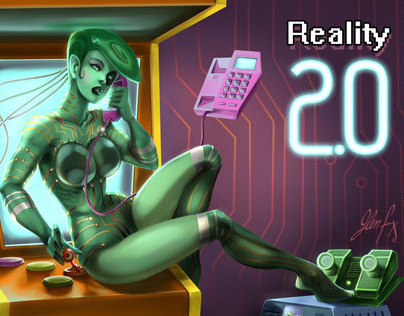Reality 2.0 -The Internet- Pinup v2