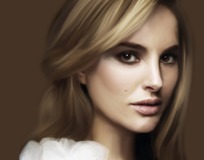 Digital Painting - Natalie Portman