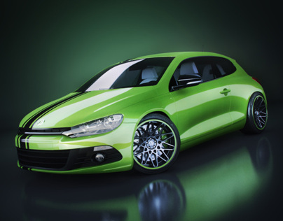 VW Scirocco - Studio shots / 2013