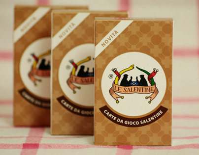"""Le Salentine"" - playing cards"