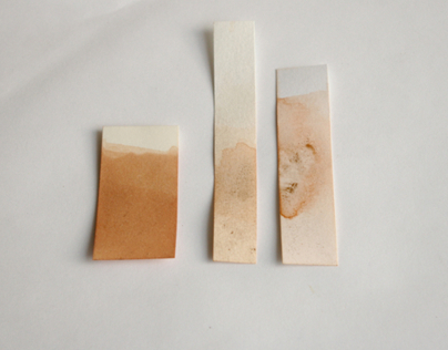 Plant Dye Test Strips