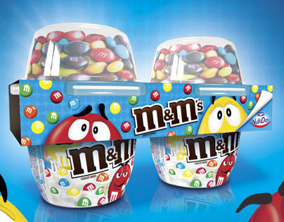 Bipack  m&m´s / Danone Nutriday.