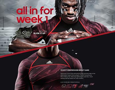 adidas Week 1 Experience
