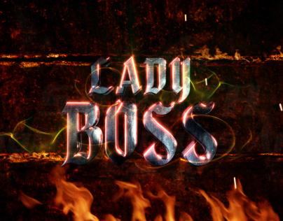 Lady Boss title (Kannada movie)