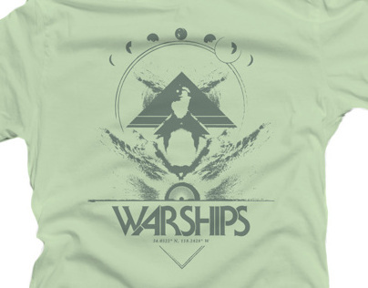 Warships - Logo and Tee-Shirt Design for LA Band