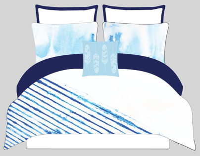 Caleb Bedding Design