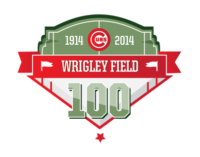 Wrigley Field 100th Anniversary Logo Entry