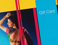 Sakhi Gift Cards and Innovative Hanger Poster