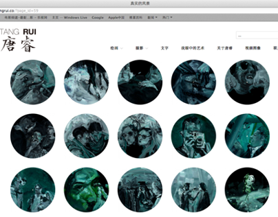 TANG RUI - Web design & development