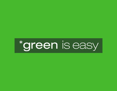 *green is easy