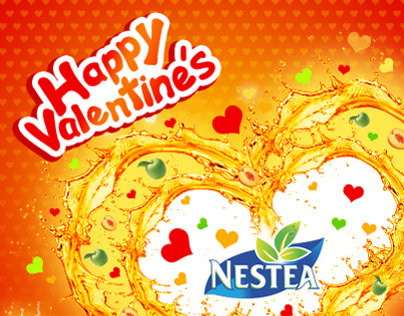 Nestea Facebook designs