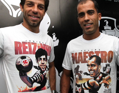 Football Players Caricatures, T-Shirts + Merchandising