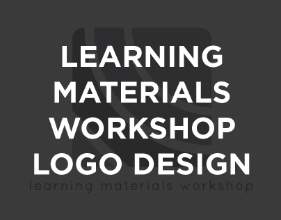 Learning Materials Workshop Logo Design