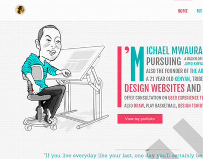 Michael Mwaura - Personal website