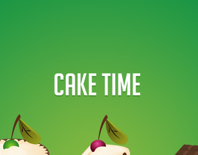 Cake Time - Icon Set