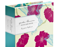 Chronicle Books Garden Blossoms Stationery