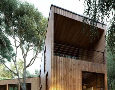 House La Invernada by 2Gstudio