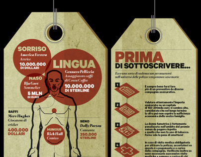 BGX - Infographics on Amica magazine