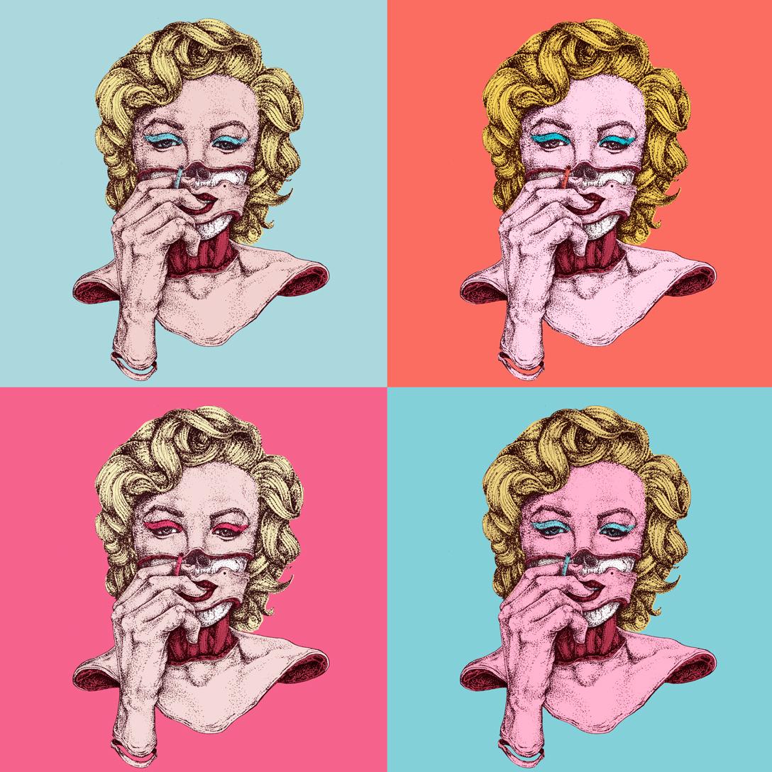 Marilyn Monroe -PunkArt-