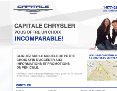 Capital Chrysler Mini Site
