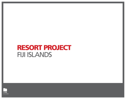 The Talei - Resort Project in Fiji