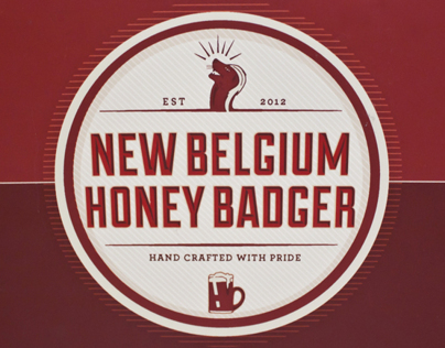 New Belgium Honey Badger