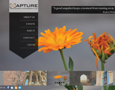 Capture The Photography Club - Website