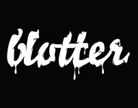 Blotter Record Label (Logo)