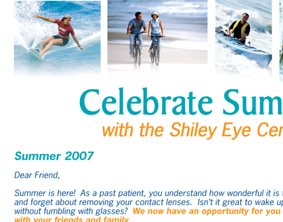 lasik spring and summer advertisements