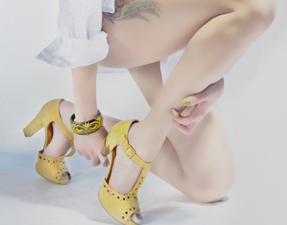 My Yellow Shoes/ Self Portraits