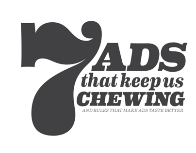 7 Gum Ads That Keep Us Chewing