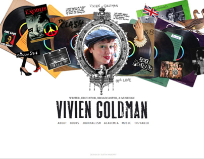 Vivien Goldman website