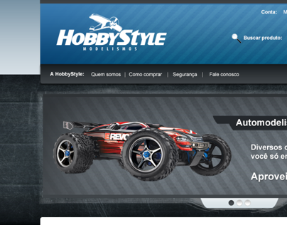 HobbyStyle - E-commerce Design 2011