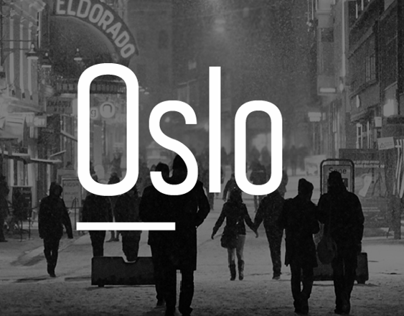 Oslo; A free typeface.
