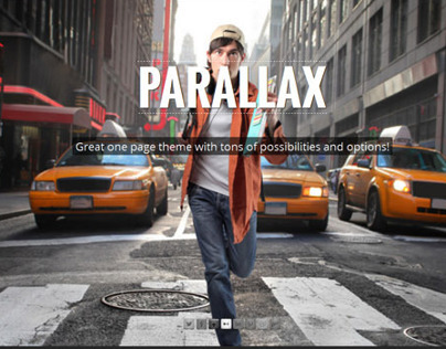 907, Premium WordPress Parallax OnePage Theme